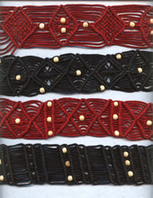 Macrame Belts