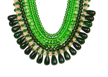Five String Diva Necklace 03 Green