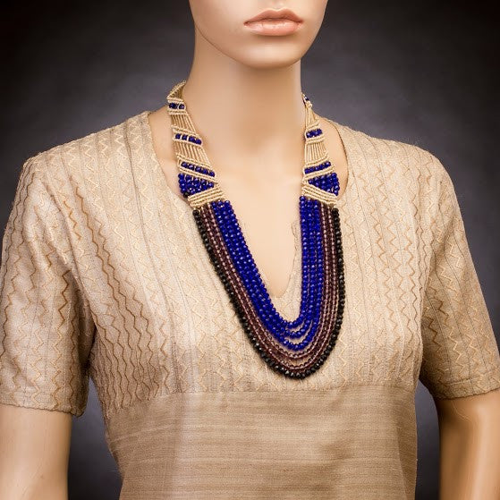 Six String Opera Necklace
