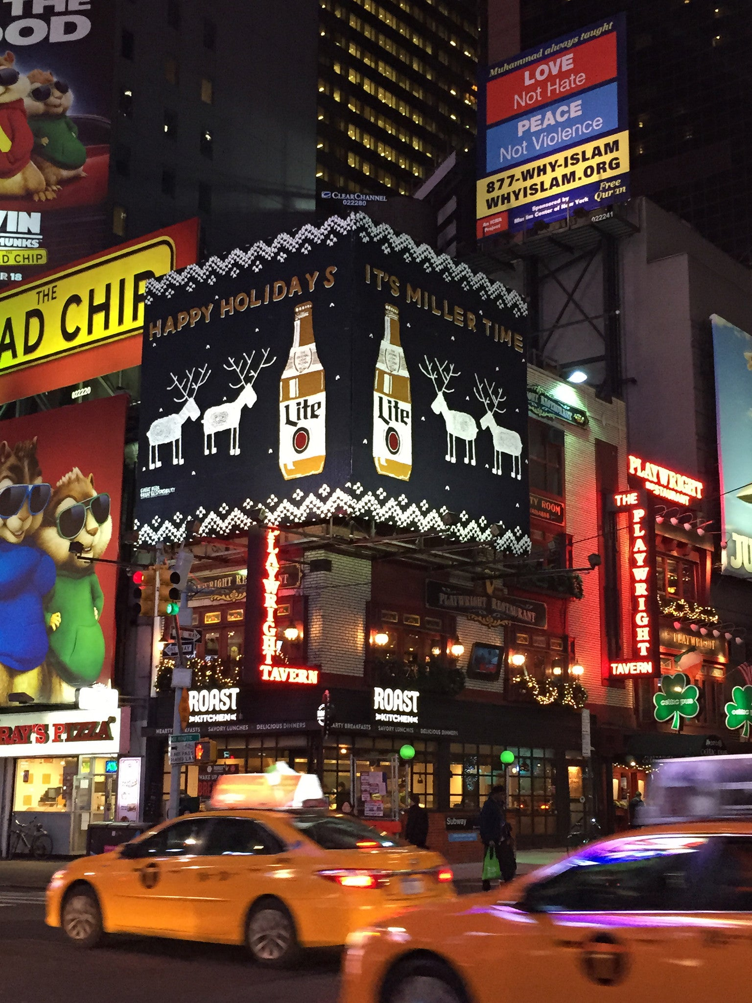 How Miller Lite brought their Holiday Campaign to New York