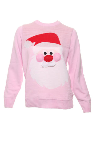 Pink Custom Ugly Sweaters