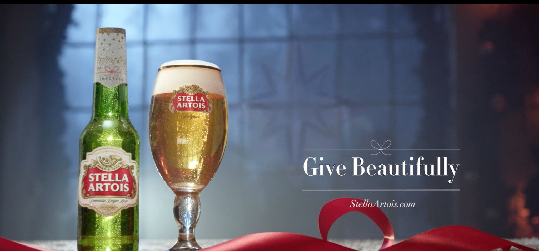 Stella Artois Holiday Marketing Campaign