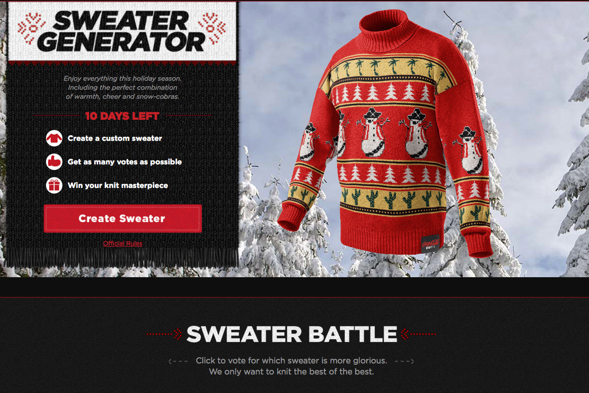 Christmas Sweater Maker