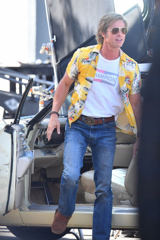 Brad Pitt in Once Upon a Time in Hollywood shirt