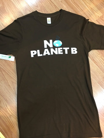 """No Planet B"" Bamboo and Organic Cotton Unisex T-Shirt"