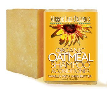 Mirror Lake Oatmeal Conditioning Shampoo Bar