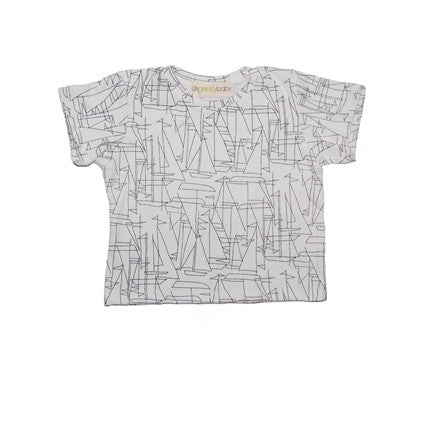 Sailboat Short Sleeve Toddler Tee (Sizes 18M up to 4T)