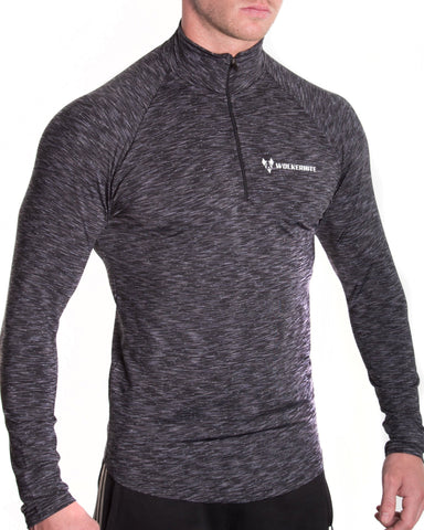 Long sleeve compression top - www.alphawoolfe.com