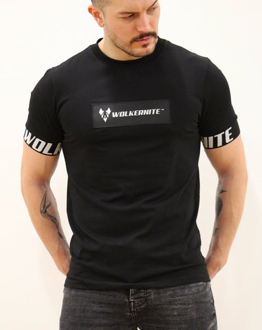acz095 MENS BLACK PREDATOR-X WOLKERNITE™ T-SHIRT