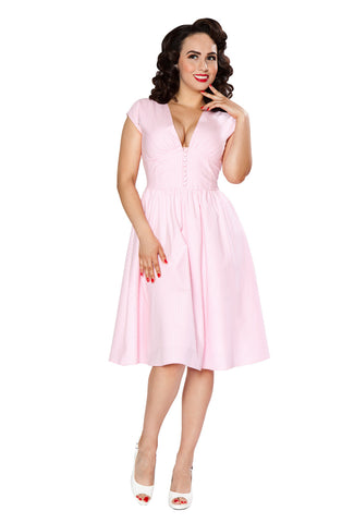 Golly Miss Dolly Dress (Pink Gingham)