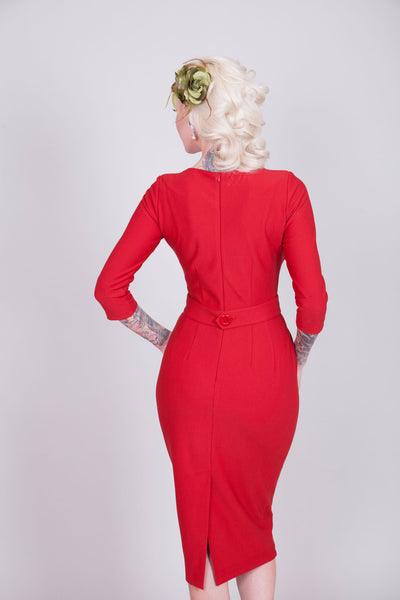 Vickie Dress (Red)