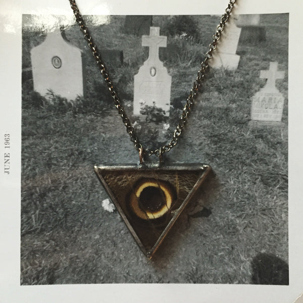 Illuminati Owl Eye Pendant