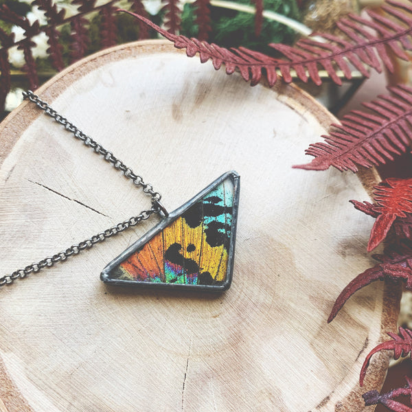 Sunset Moth Rainbow Triangle - small