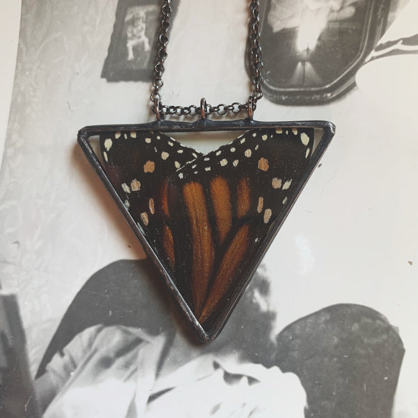 Monarch Heart Pendant