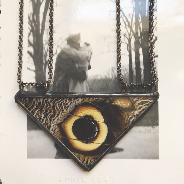 Owl Eye Large Triangle