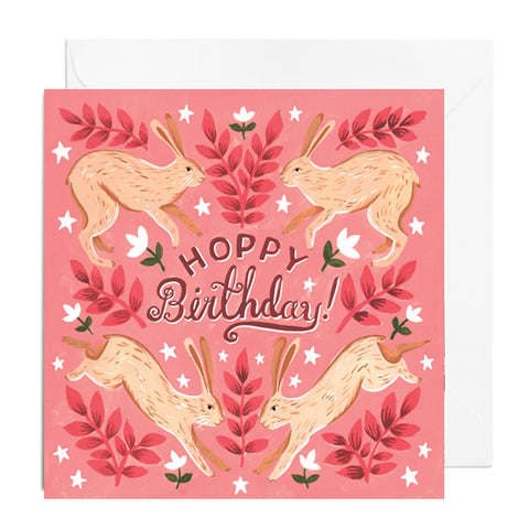 Hoppy Birthday Greetings Card