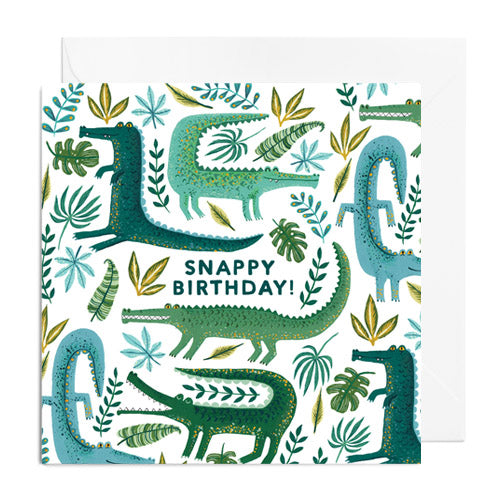 Snappy Birthday Greetings Card