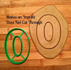 "2"", 3"" and 5"" Number 0 Cookie Cutter/Clearance"