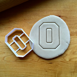 Varsity Letter O Cookie Cutter/Dishwasher Safe