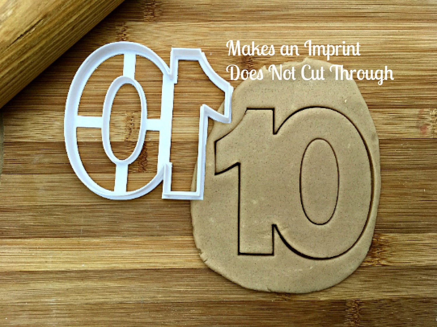 Number 10 Cookie Cutter/Dishwasher Safe