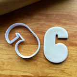 Number 6 or 9 Cookie Cutter/Dishwasher Safe