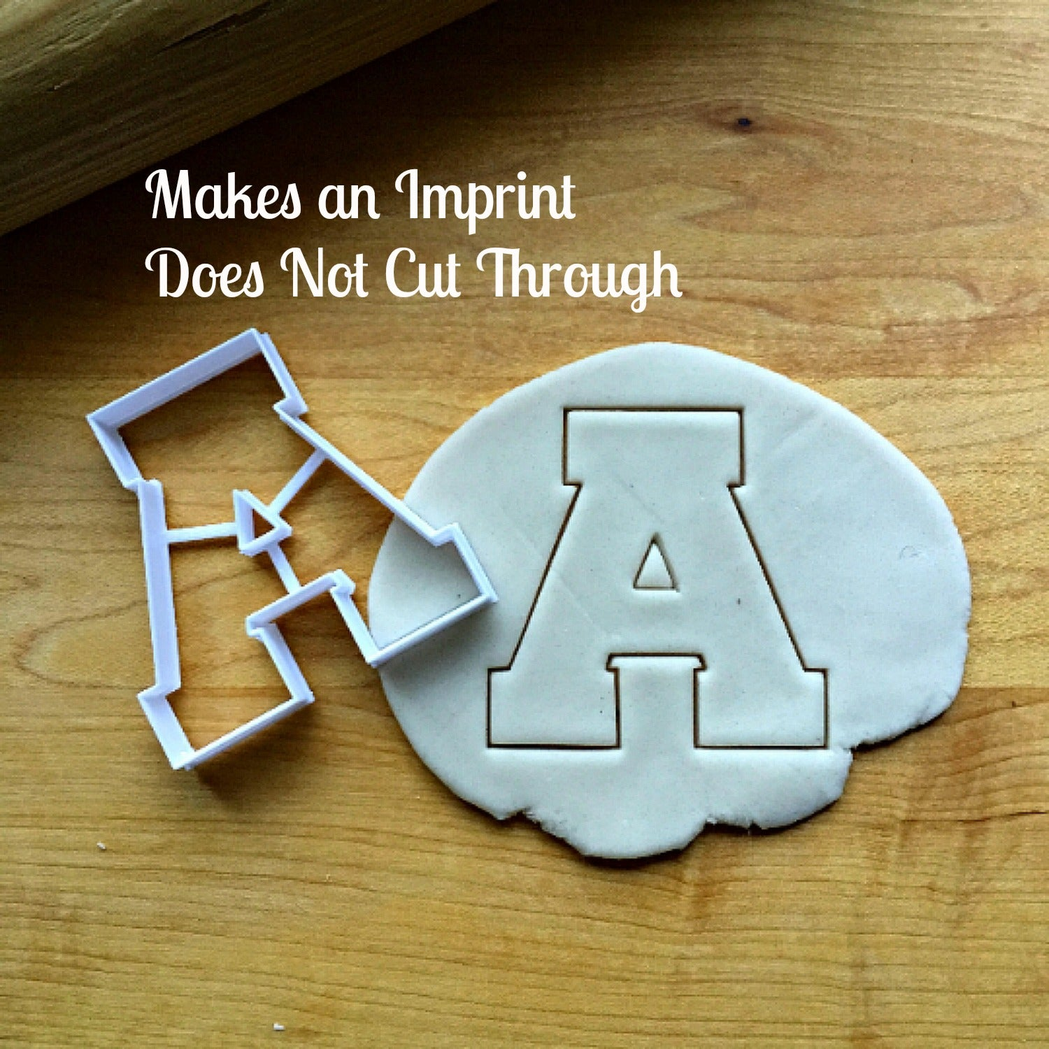 Varsity Letter A Cookie Cutter/Dishwasher Safe
