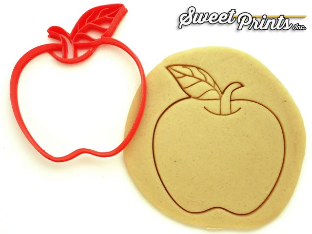 Apple Cookie Cutter/Dishwasher Safe