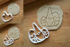 Set of 3 Easter Gnome Cookie Cutters/Dishwasher Safe