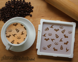 Halloween Mix Cookie Stencil/Coffee Stencil