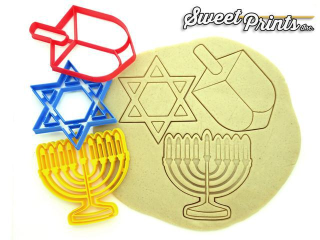 Chanukah Set of 3 Cookie Cutters