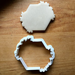 Flowery Hexagon Cookie Cutter/Dishwasher Safe