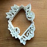 Floral Diamond Cookie Cutter/Dishwasher Safe