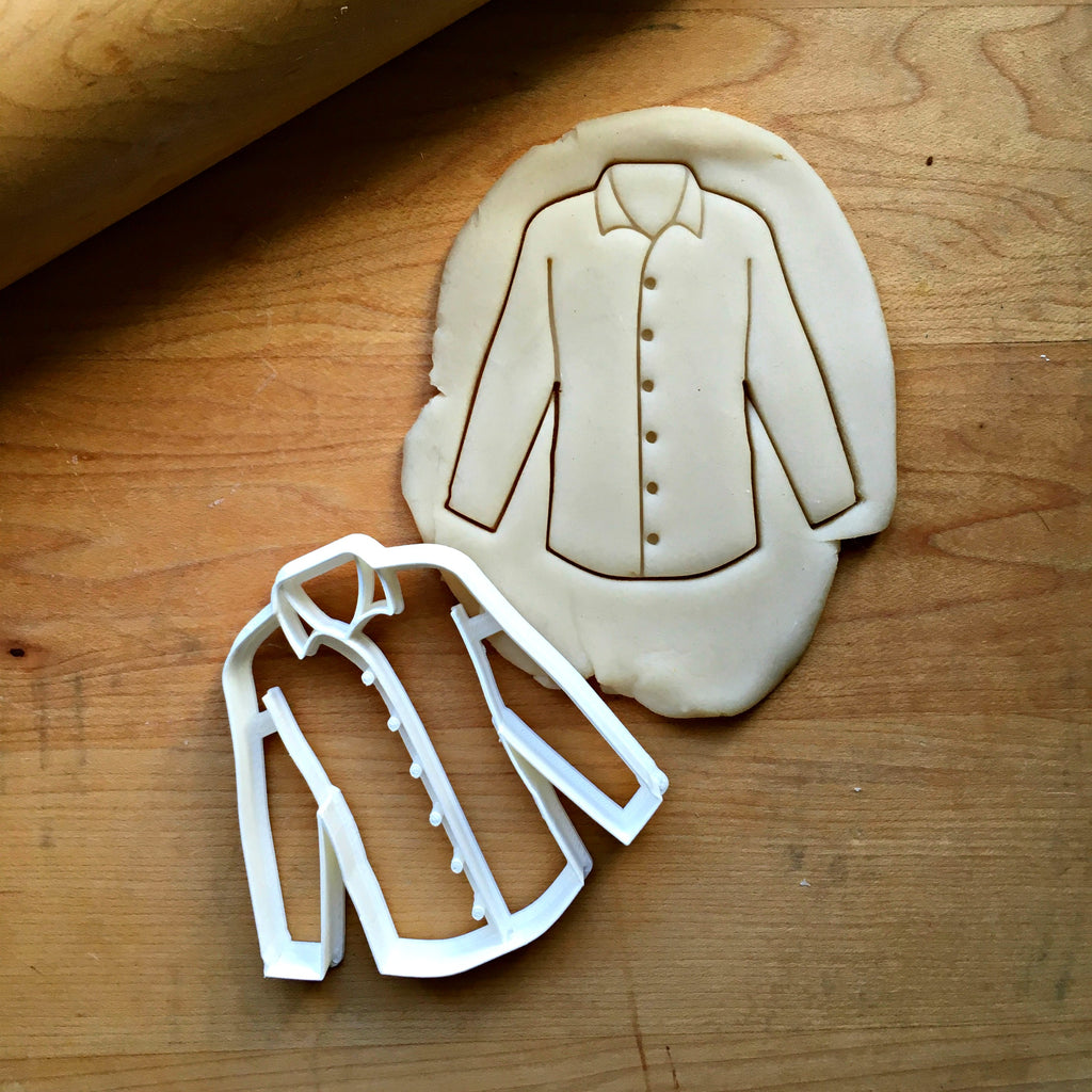 Long Sleeved Shirt Cookie Cutter/Dishwasher Safe