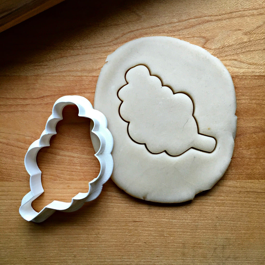 Rounded Leaf Cookie Cutter/Dishwasher Safe