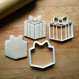 Set of 2 Present/Gift Cookie Cutters/Dishwasher Safe