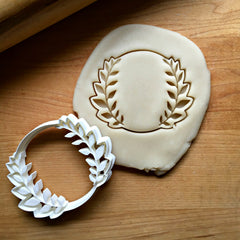 Leaf Circle Cookie Cutter/Dishwasher Safe