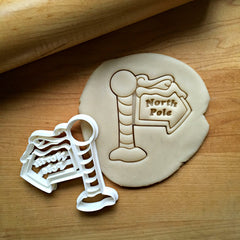 North Pole Cookie Cutter/Dishwasher Safe