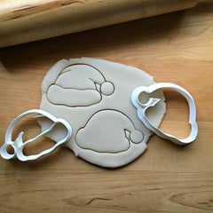 Set of 2 Santa Hat Cookie Cutters/Dishwasher Safe