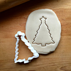 Christmas Tree with Star Cookie Cutter/Dishwasher Safe