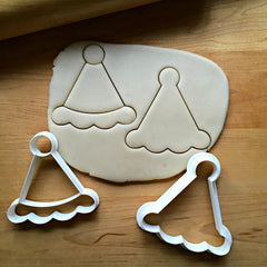 Set of 2 Party Hat Cookie Cutters/Dishwasher Safe