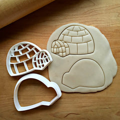 Set of 2 Igloo Cookie Cutters/Dishwasher Safe