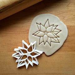 Christmas Poinsettia Cookie Cutter/Dishwasher Safe