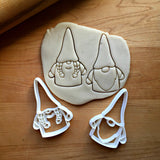Set of 2 Boy and Girl Gnome Cookie Cutters/Dishwasher Safe
