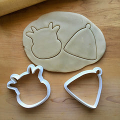 Set of 2 Cow and Bell Cookie Cutters/Dishwasher Safe