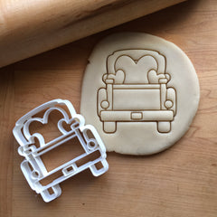 Pickup Truck with Heart Tailgate Cookie Cutter/Dishwasher Safe