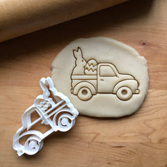 Easter Pickup Truck Cookie Cutter/Dishwasher Safe