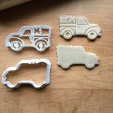 Set of 2 St. Patrick's Day Pickup Truck Cookie Cutters/Dishwasher Safe