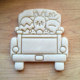 Easter Bunny Pickup Truck Tailgate Cookie Cutter/Dishwasher Safe
