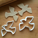 Set of 2 Dove/Bird Cookie Cutters/Dishwasher Safe