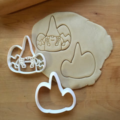 Set of 2 Girl Easter Gnome Cookie Cutters/Dishwasher Safe